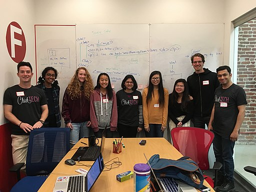 Wikimedia at ChickTech's High School Kick-off 2017 (2)