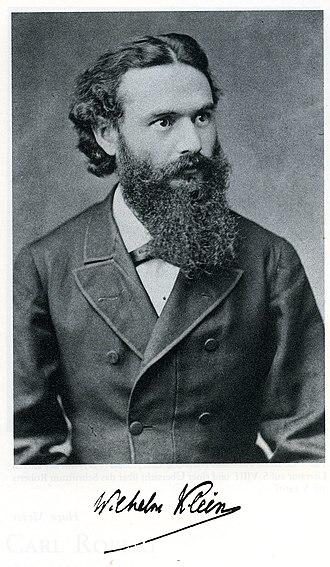 Wilhelm Klein - Image: Wilhelm Klein
