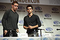 Will Poulter & Dylan O'Brien (13925760026).jpg