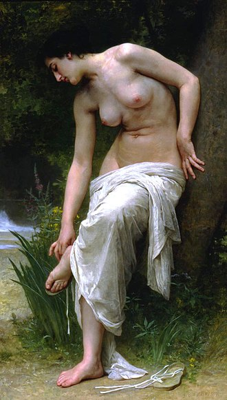 Ricardo Brennand Institute - William-Adolphe Bouguereau – After the Bath (1894).