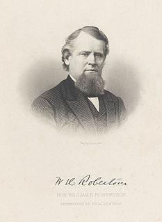 William H. Robertson American politician
