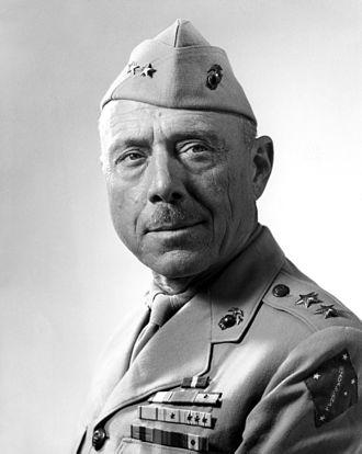 """William H. Rupertus - MajGen William H. Rupertus, author of the """"Rifleman's Creed"""""""