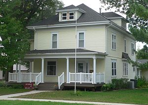 Governor William J. Bulow House - Image: William J. Bulow house from NW 1