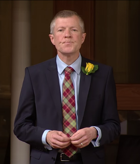 Willie Rennie Scottish politician