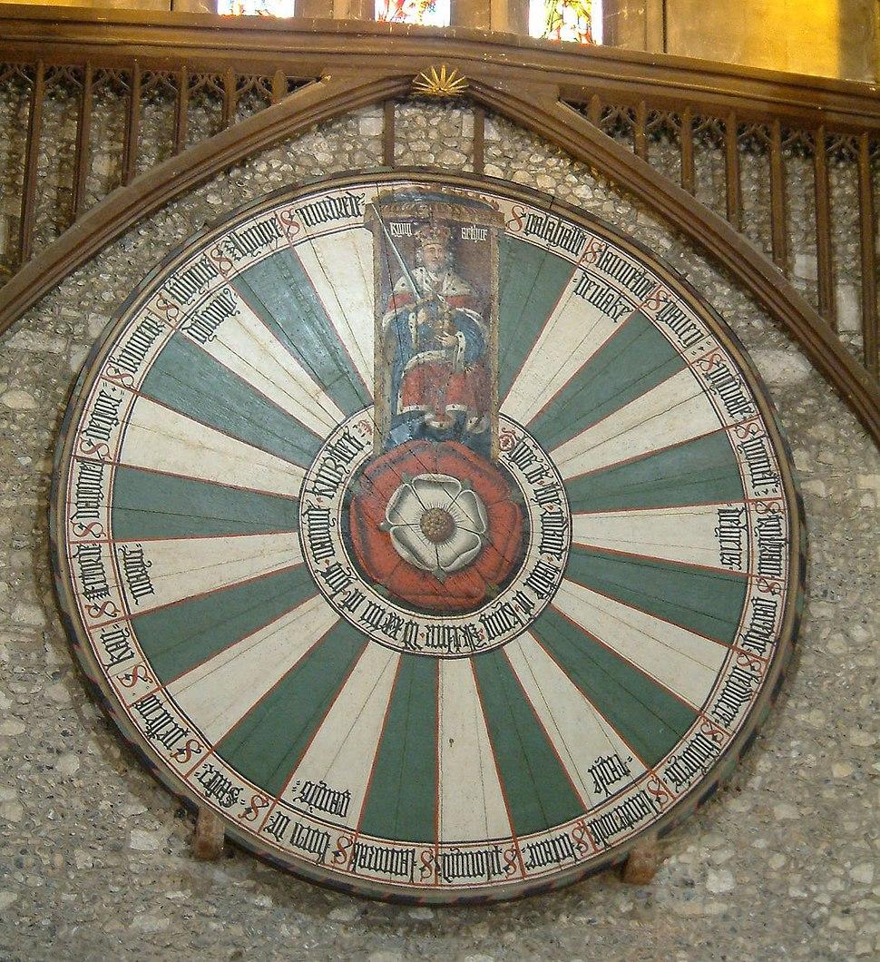 Winchester - Table ronde du roi Arthur