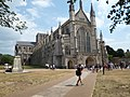 Winchester Cathedral in a hot July.jpg