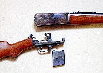 Winchester Model 1905 - Winchester SL 05 Take Down