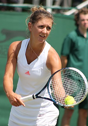 Jade Windley - Windley at the 2014 Wimbledon<br/>qualifying tournament