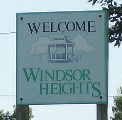Windsor Heights, Iowa.