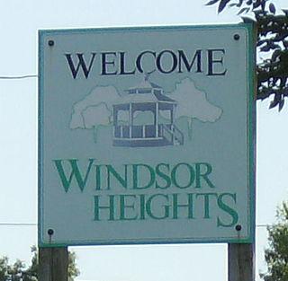 Windsor Heights, Iowa City in Iowa, United States