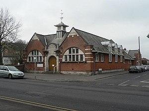 Winton, Dorset - Winton library.