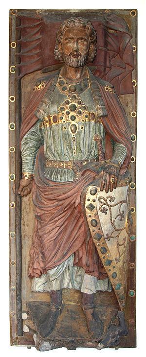 Wiprecht of Groitzsch - Tomb effigy of Wiprecht
