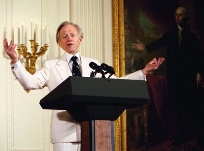 Wolfe at White House