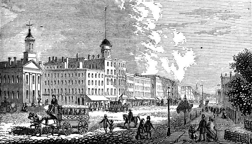Woodward av Detroit MI Barber 1865p361