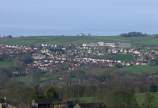 Worrall Village in South Yorkshire, England