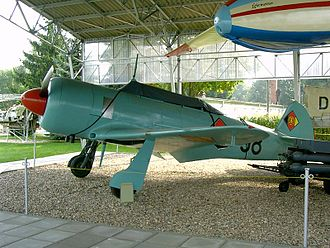 Yakovlev Yak-11 - Fighter/trainer aircraft Yakovlev Yak-11 (National People's Army)