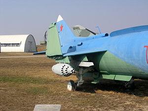 Yakovlev Yak-38 in Togliatti Technical Museum - 4152.JPG