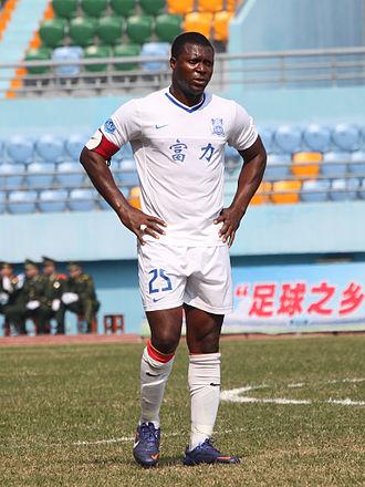 Yakubu Aiyegbeni - Yakubu in 2013