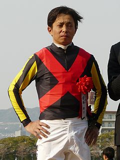Yasunari Iwata Japanese jockey