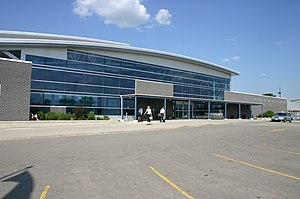 Region of Waterloo International Airport - The terminal building