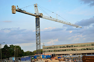 EllisDon - EllisDon construction crane at York University.