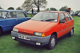 Zastava Florida - 1990 Yugo Sana (UK right-hand drive model)