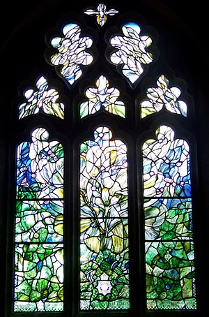 Henry Haig - Memorial window to WPC Yvonne Fletcher