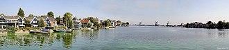 Zaan - Image: Zaanse Schans panorama