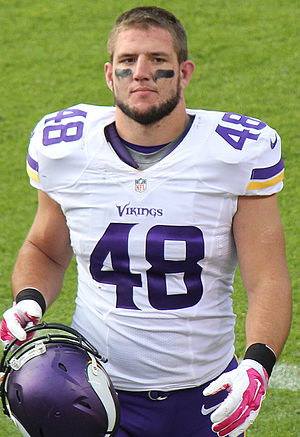 Zach Line - Line with the Minnesota Vikings in 2015