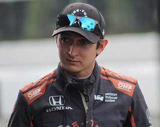 Zach Veach American racing driver