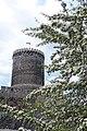Zamek będziński położony na wysokiej skarpie na lewym brzegu Czarnej Przemszy stanowi przykład budownictwa obronnego z połowy XIV w 2.jpg