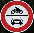 Zeichen 252 - Interdit aux motos, StVO 1970.jpg