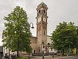 Zelarino - Parrocchia Maria Immacolata e San Vigilio - Il monumento ai caduti.jpg