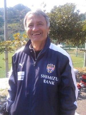 Zdravko Zemunović - Image: Zemnovic Shimizu