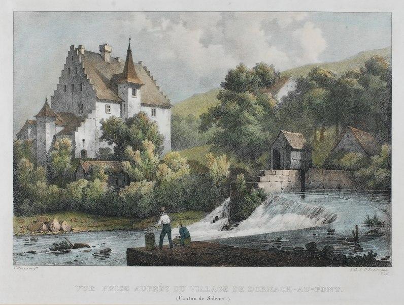 File:Zentralbibliothek Solothurn - VUE PRISE AUPRÈS DU VILLAGE DE DORNACHAUPONT Canton de Soleure - aa0158.tif