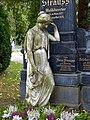 Zentralfriedhof Wien Grabmal Josef Strauss 02.jpg