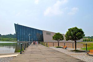Canton Coup - The Zhongshan Warship Museum in Wuhan.