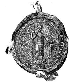 Siemowit II of Masovia - Siemowit II's Seal, ca. 1345