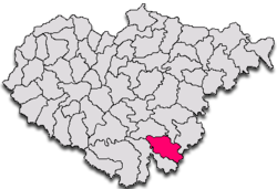 Commune Zimbor in Sălaj County