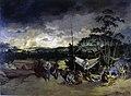 Zimmermann, Aurélio - Pouso no Sertão - Queimada, 1826.jpg
