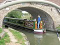"""Alcyone"" passes under Bridge No 131 - geograph.org.uk - 1468254.jpg"
