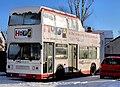 """Hope"" bus, Belfast - geograph.org.uk - 2202214.jpg"