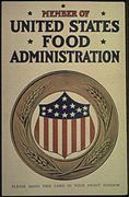 """Member of the United States Food Administration. Please Hang This Card In Your Front Window."", ca. 1917 - ca. 1919 - NARA - 512510.jpg"