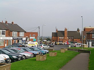 Birstall, Leicestershire - Birstall village centre.