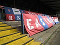 """""""Ultra """" syle banners in the East Stand at Aldershot Town F.C. - geograph.org.uk - 992770.jpg"""