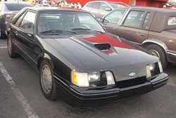 '83-'86 Ford Mustang Hatchback (Orange Julep).JPG
