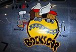 'Bockscar' nose art, National Museum of the US Air Force, Dayton, Ohio, USA. (43020082700).jpg