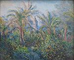 'Garden at Bordighera, Impression of Morning' by Claude Monet, 1884, Hermitage.JPG