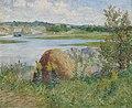 'On the Essex River' by John Leslie Breck, 1891.jpg