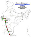 (Porbander - Kochuveli) Express Route map.jpg